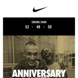 [Nike] Ends Soon! Extra 20% Off Anniversary Week
