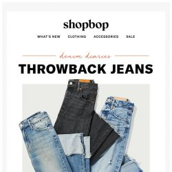 [Shopbop] The '90s called, they want their jeans back
