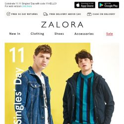 [Zalora] 🚨 3 HOURS ONLY | Extra 31% Off Sitewide