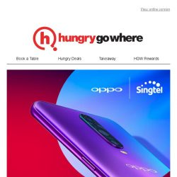 [HungryGoWhere] Get the newly launched OPPO R17 Pro and enjoy 6 FREE mths of DATA X 3