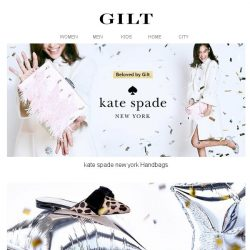 [Gilt] ✨kate spade new york is here.✨