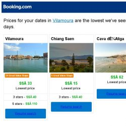 [Booking.com] Prices in Vilamoura dropped again – act now and save more!