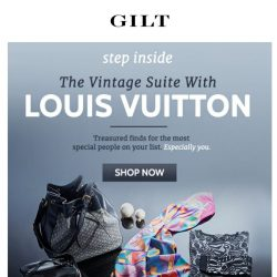 [Gilt] ❯❯Vintage Louis Vuitton & More, right this way.❯❯