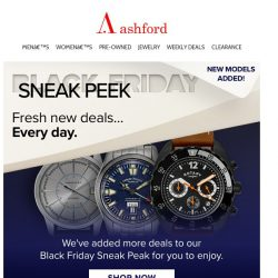 [Ashford] Sneak Peek : New watches added