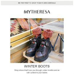 [mytheresa] Winter boots | The pieces you loved this week