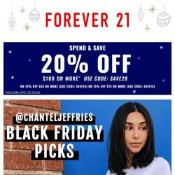 [FOREVER 21] 🎁 HOLIDAY STYLES STARTING AT $1.90