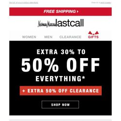 [Last Call] Save on KENDRA SCOTT + everything else extra 30%–50% off