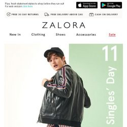 [Zalora] 11.11 Extended Deals: Everything Up to 70% Off