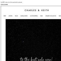 [Charles & Keith] Save the date—Black Friday Sale