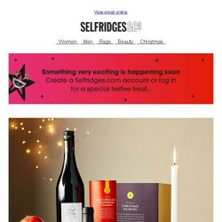 [Selfridges & Co] Stage-worthy hampers & gifts