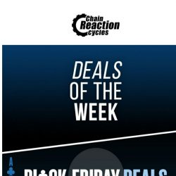 [Chain Reaction Cycles] Monday, meet Deals 😍