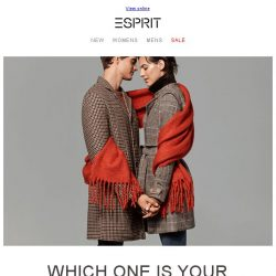 [Esprit] Stay warm with Autumn Hues