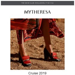 [mytheresa] 👠Shoe Club exclusive: SS19 styles