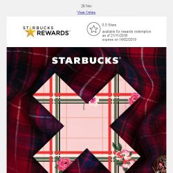 [Starbucks] An exciting #StarbucksX to be revealed soon
