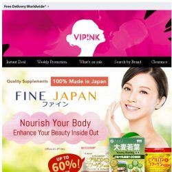 [SaSa ] 【Fine Japan】Up to 60% Off - 100% Made in Japan quality supplement!