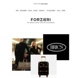 [Forzieri] The Ultimate Travel Pieces from Brics