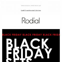 [RODIAL] Save 40% With Our Black Friday Gift Sets 💖
