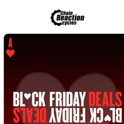 [Chain Reaction Cycles] ❤️ Black Friday Deals under £100! ❤️