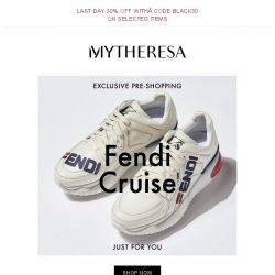 [mytheresa] Exclusive pre-shopping: Fendi Cruise '19