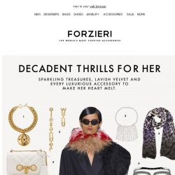 [Forzieri] Decadent Thrills for Her
