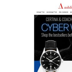 [Ashford]  Exceptional Watches from Coach & Certina Specially Priced!