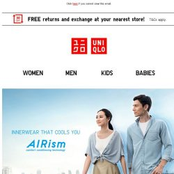 [UNIQLO Singapore] Offers ending this Sunday!