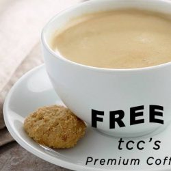 TCC: Black Friday Offer - Get FREE Coffee if You Wear Black!