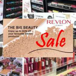 Revlon: Year End Big Beauty Sale with Up to 80% OFF Revlon Products