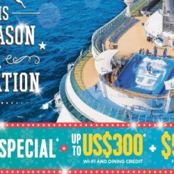 Royal Caribbean: 4-to-Go Special - Up to USD300 Wi-Fi & Dining Credit + $50 OFF Per Stateroom