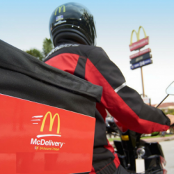 McDonald's: Coupon Codes for FREE Mudpie McFlurry, Hot Fudge Sundae, Double Cheeseburger, Chicken McNuggets & Hashbrown when You Order McDelivery!