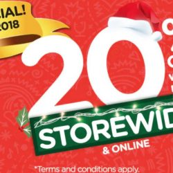 Watsons: Enjoy 20% OFF Storewide & Online with Min. $38 Nett Spend + 6% Cash Rebate with POSB Everyday Card!