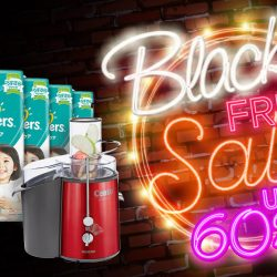 Redmart: Black Friday Sale with Up to 60% OFF + Additional 30% OFF Coupon Code!