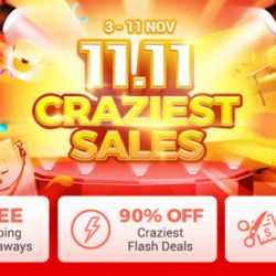 ezbuy: 11.11 Craziest Sales is Back with iPhone XS and Dyson Airwrap Styler Giveaway!
