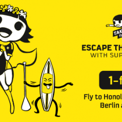 Scoot: Take Off Tuesday with 1-for-1 to Honolulu, Berlin, Langkawi, Bangkok, Melbourne, Taipei & More!