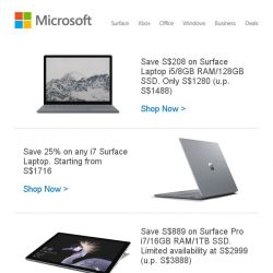 [Microsoft Store] Save up to 25% on Surface Laptop