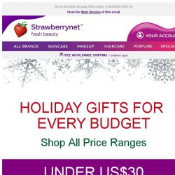 [StrawberryNet] 🎉🎊 Tis the Season to Shop Great Gifts for All!
