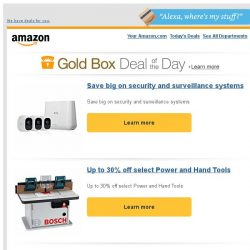 [Amazon] Save big on security and surveillance systems
