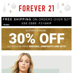 [FOREVER 21] 329 NEW Holiday Styles!