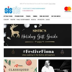 [SISTIC] SISTIC's Gift Guide for everyone on your list.