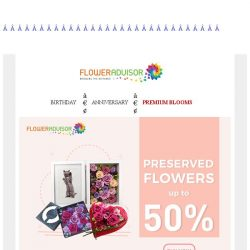 [Floweradvisor] [Clearance Alert] Grab up to 50% Off for these items