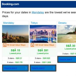 [Booking.com] Prices in Mandalay dropped again – act now and save more!
