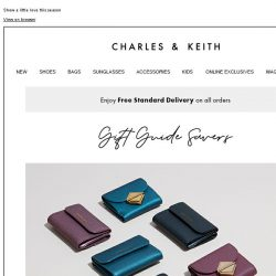 [Charles & Keith] Gifts Under S$50