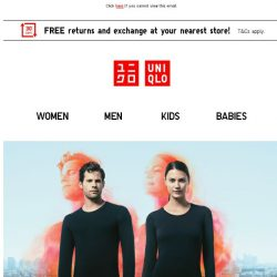 [UNIQLO Singapore] Your favourite travel essentials on offers!