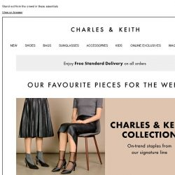 [Charles & Keith] Revel In These Stylish Selects