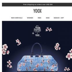 [Yoox] Exclusive: the Mary Poppins Returns X YOOX capsule collection