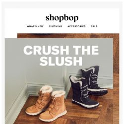 [Shopbop] Today's forecast: new cold-weather boots