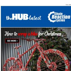 [Chain Reaction Cycles] How to wrap a bike for Christmas