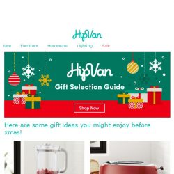 [HipVan] Top 10 gifts you missed out on.🎁