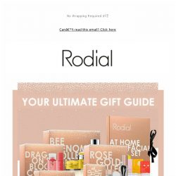 [RODIAL] Find The Perfect Christmas Gift