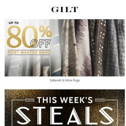 [Gilt] Up to 80% Off Safavieh to UMA. It's Sunday Night HOME Steals.